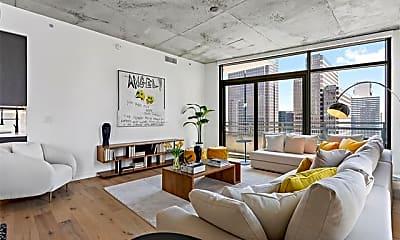 Living Room, 1801 N Pearl St 2812, 0