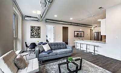 Living Room, 1317 W Loyola Ave 2C, 1
