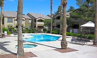 Pool, 5055 W Hacienda Ave 1168, 1