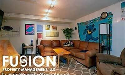 Living Room, 68 South Willard Street - Unit C, 1
