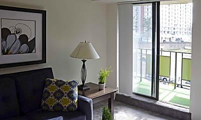Living Room, Plaza Towers, 1