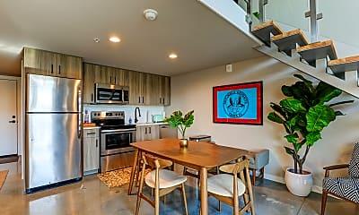 Kitchen, Avenue Lofts, 1