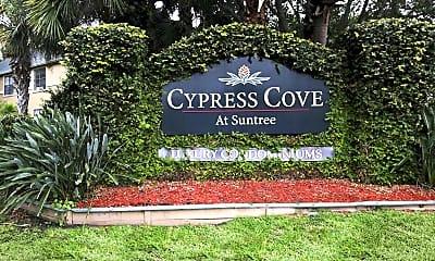 Community Signage, Cypress Cove Condominium Rentals At Suntree, 2