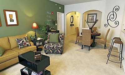 Living Room, StoneBridge Luxury Apartment Homes, 1