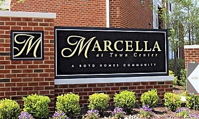Community Signage, Marcella at Town Center Apartments and Townhomes, 1