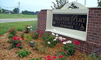Community Signage, Belleview Place, 1