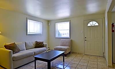 Living Room, Hillside Manor, 1