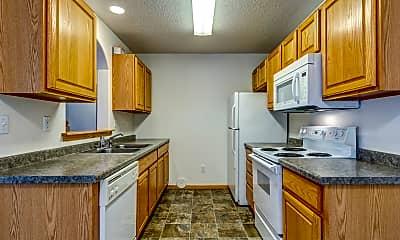 Kitchen, White Willows Town Homes, 0