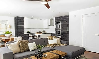 Living Room, Penthouses At Presidential City, 1