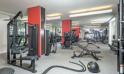 Fitness Weight Room, Manor Riverwalk, 2