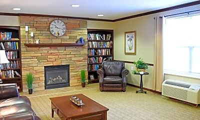 Living Room, Brighton Square Senior Apartments, 1