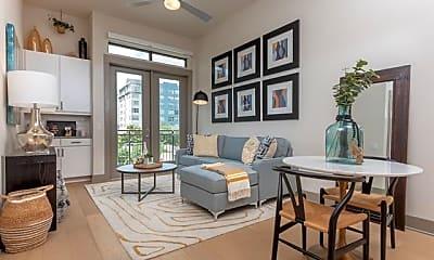 Living Room, 3330 Oak Grove Ave 606, 1