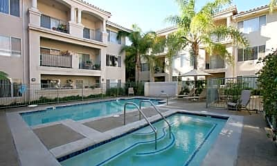 Pool, Palacio Senior Apartments, 0