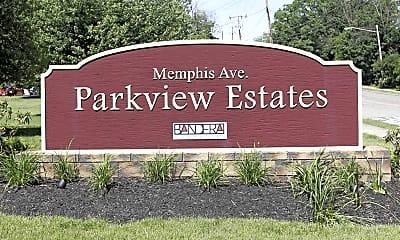 Community Signage, Parkview Estates, 2