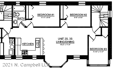 Kitchen, 2021 N Campbell Ave, 2