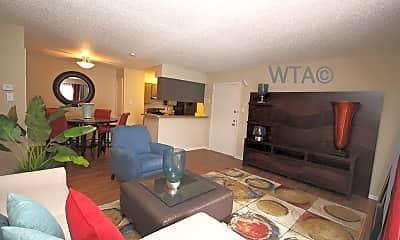 Living Room, 5235 Glen Ridge, 1