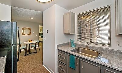 Kitchen, The James Apartments, 1
