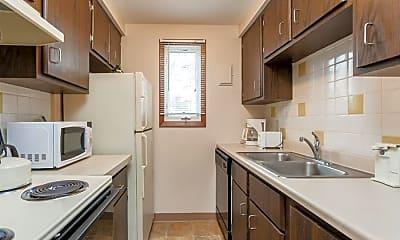 Kitchen, Paradise Lane Apartments, 1