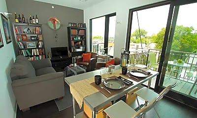Living Room, Dwell Bay View, 1