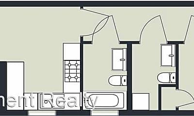 Bedroom, 1115 Marigny St, 2