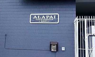 The Alapai Apartments, 1