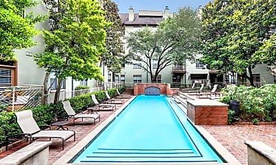 Pool, Post Addison Circle, 0