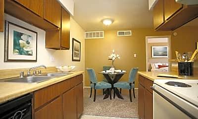 Kitchen, Northridge Court Apartments, 1