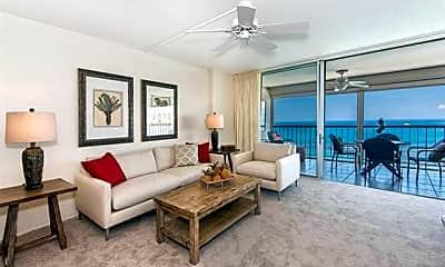 Living Room, 2877 Kalakaua Ave 1204, 0