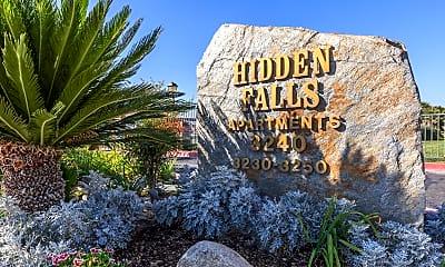 Community Signage, Hidden Falls Apartments, 0