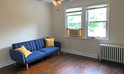 Living Room, 1715 H St NE, 1
