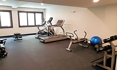 Fitness Weight Room, 1070 S Bedford St 404, 2