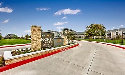 Community Signage, North Creek Apartments, 2