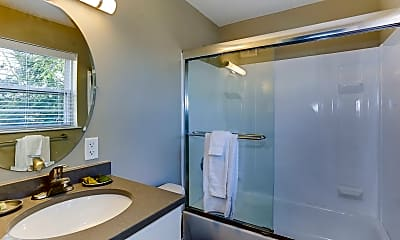 Bathroom, Village At Fox Point Apartments and Townhomes, 2