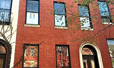 Building, 1614 Bolton St, 1