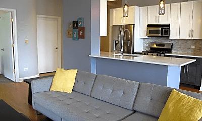 Living Room, 1301 W Madison St, 1