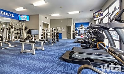 Fitness Weight Room, 1000 San Marcos Street, 1