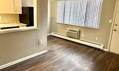 Living Room, 3444 S Marion St, 1