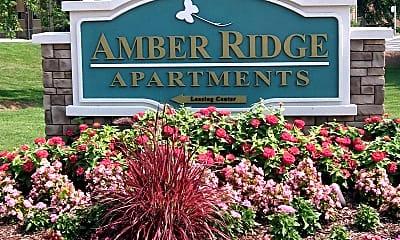 Community Signage, Amber Ridge, 0