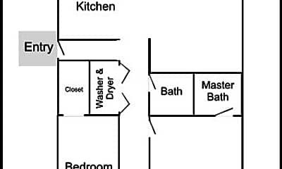 Bathroom, 9943 NE Prescott St, 2