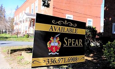 Community Signage, 219 N Spring St, 2
