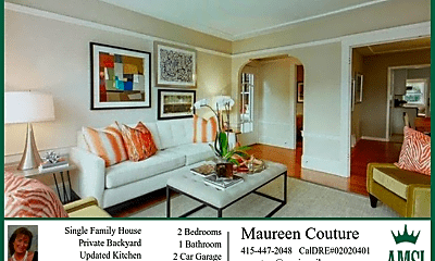 Living Room, 430 Capistrano Ave, 0