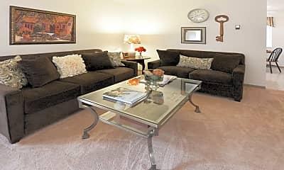 Living Room, Ranch Village, 1