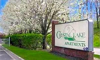 Community Signage, Crystal Lake Apartments, 2