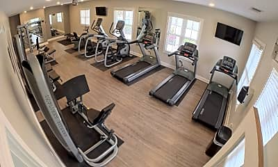 Fitness Weight Room, The Retreat at Carmel, 2