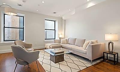 Living Room, 159 W 126th St 3-B, 0