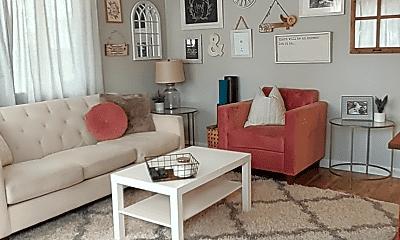 Living Room, 7225 SE Tenino St, 1