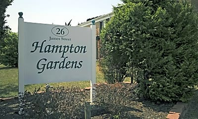 Community Signage, Hampton Gardens, 2