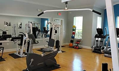 Fitness Weight Room, Sweetgrass Landing, 2
