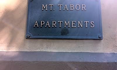 Mt Tabor Apartments, 1