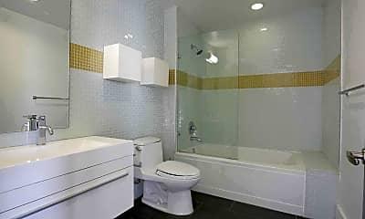 Bathroom, National City Tower Lofts, 2